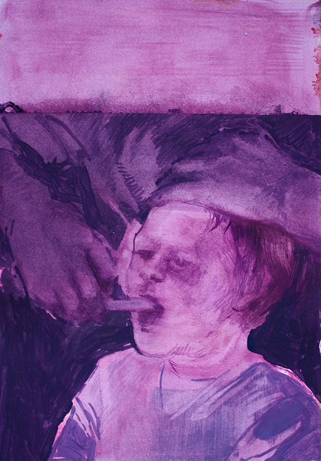 Barbara De Vivi - Disegno dall'archivio, quaderno IX, #417 - A plus A gallery, Venezia