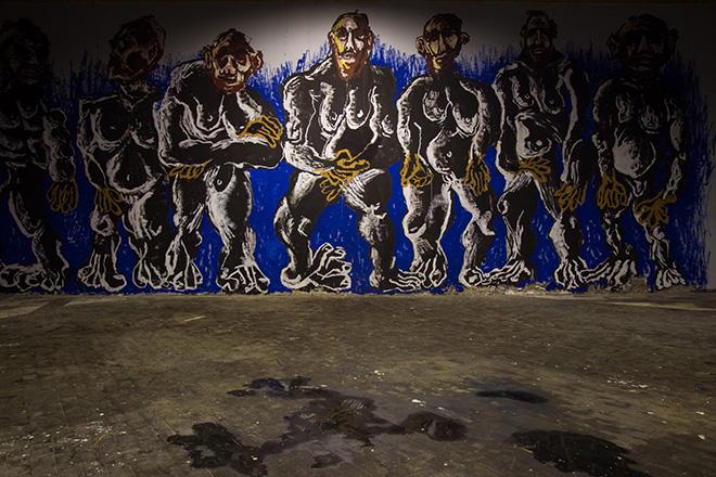 Canemorto -  MONOTONO, Rassegna artistica alla Ex Dogana (Roma). Photo credit: Angelo Jaroszuk Bogasz