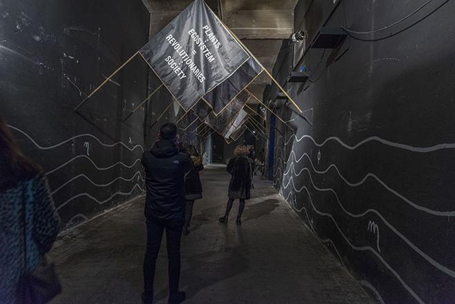 MONOTONO - Rassegna artistica alla Ex Dogana (Roma). Photo credit: Giorgio Benni