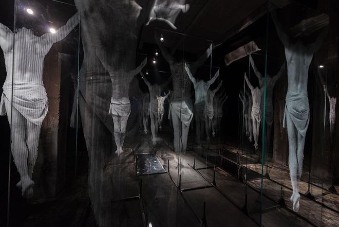 N̶O̶N̶ PLUS ULTRA - Gonzalo Borondo, MONOTONO - Rassegna artistica alla Ex Dogana (Roma). Photo credit: Giorgio Benni