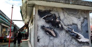 Luis Gomez de Theran - Street Frames, Mercato Rionale Casal de'Pazzi (via Locke), Roma.