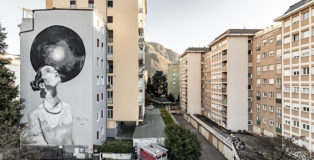 Egeon - Ricorda la Bellezza (Gedenke des Schönen), murale a Bolzano. photo credit: Tiberio Sorvillo
