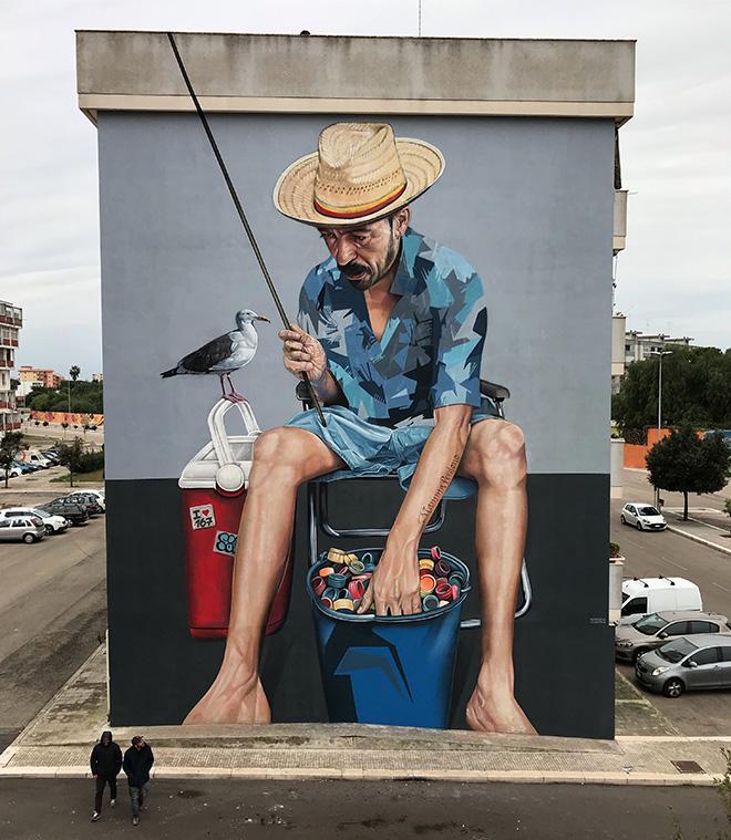 Sabotaje Al Montaje - 167 Art Project (II edizione), 167Bstreet, Lecce, 2018. photo credit: Cristian Sabatelli