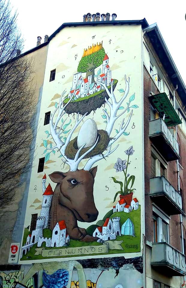 UFOCINQUE (Matteo Capobianco) - Cernunnos. Location: Lungo Dora 50, Torino