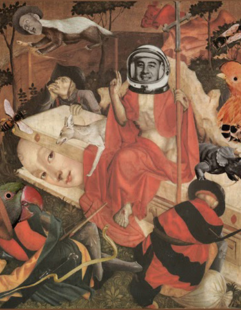 Francesco Viscuso - Apocalypse's Tales, Collage, 2014