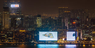 Chronoscope by Sara Bonaventura, Sino x Niio Illumination Art Prizes, Hong Kong