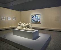 Picasso - Metamorfosi, Palazzo Reale, Milano, allestimento Nudo disteso e Arianna addormentata