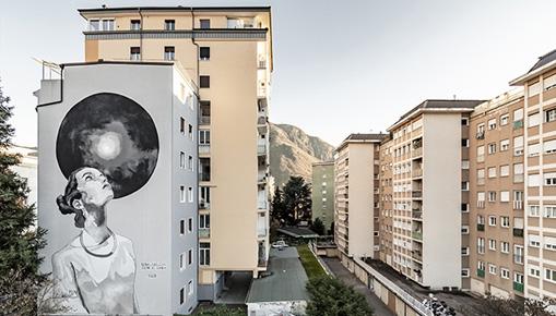 Egeon - Ricorda la Bellezza, murale a Bolzano