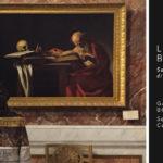 Liu Bolin – Mimesi con il San Girolamo di Caravaggio