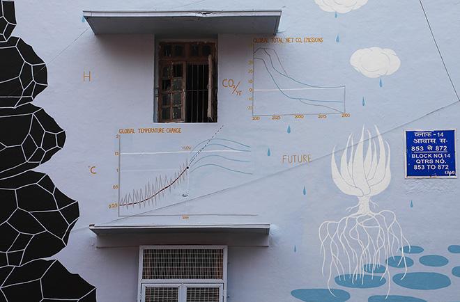 Andreco, Future Decarbonization, Climate 05, Lodhi Art District, New Delhi