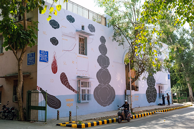 Andreco, Climate 05, Lodhi Art District, New Delhi - photo credit: Federico Angeloni