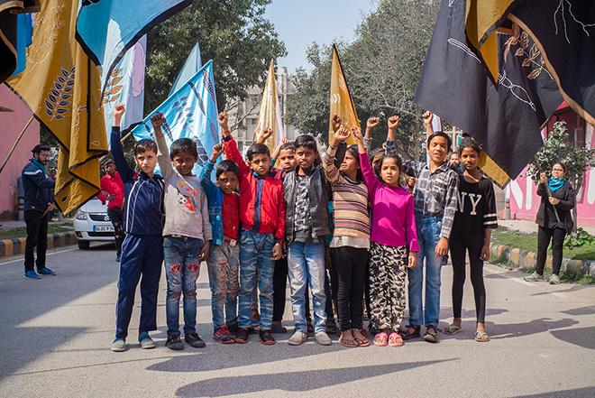 Andreco - CLIMATE PARADE, Lodhi Art Fest, New Delhi