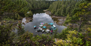 Carlo Bevilacqua - Utopia Freedom Cove, Vancouver Island, Canada