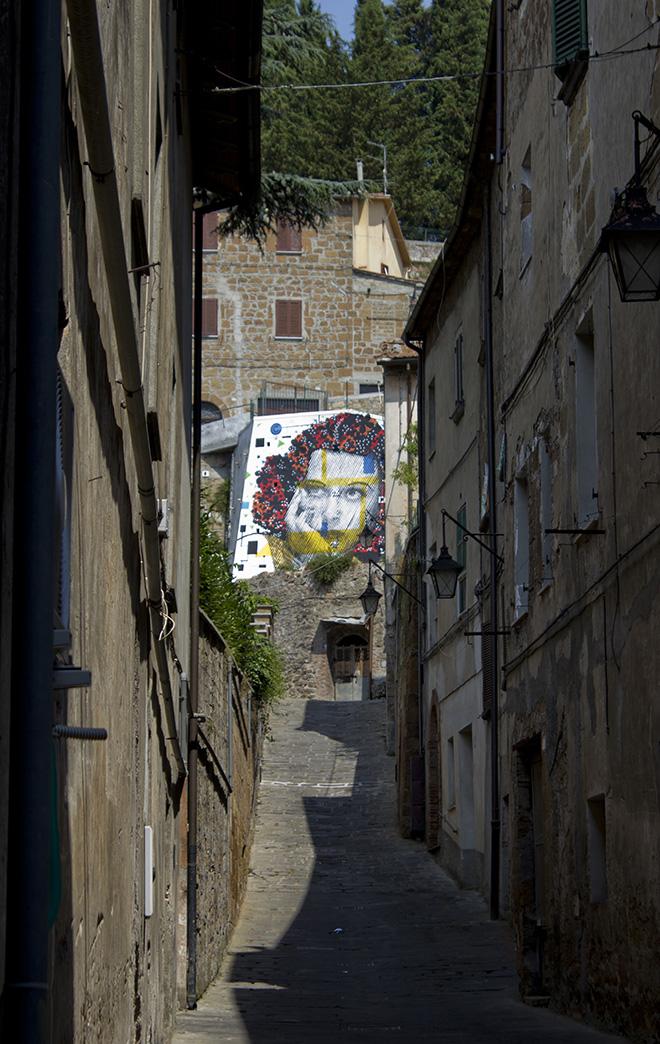 Chekos Art - Mural for Urban Vision Festival, 2015, Acquapendente (VT), Italy
