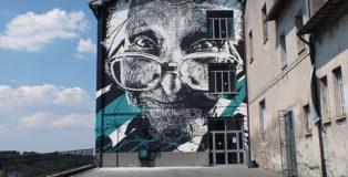 Daniel Eime - Mural for Urban Vision Festival, 2015, Acquapendente (VT), Italy