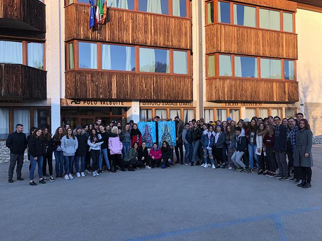 Endless, Liceo Artistico Statale (Polo Val Boite), Cortina D'Ampezzo