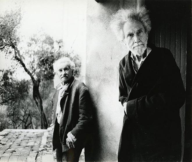 Lisetta Carmi - Ezra Pound, 1966, courtesy Martini & Ronchetti