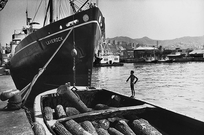 Lisetta Carmi - Il Porto di Genova, 1964-65