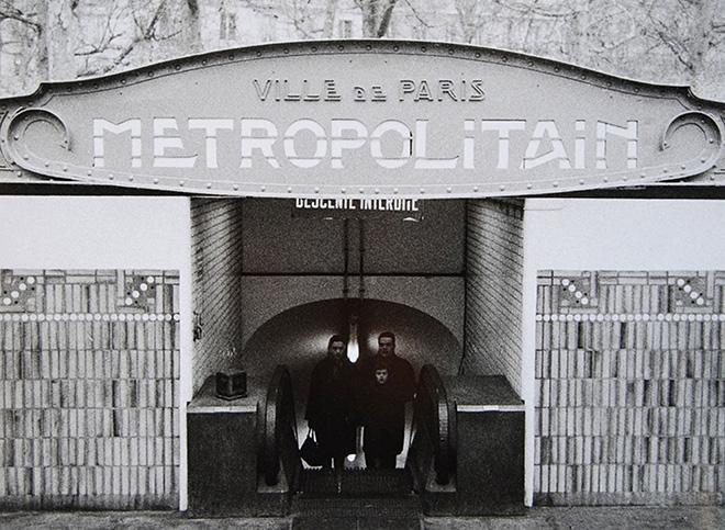 Lisetta Carmi - La Metropolitana, Parigi, 1965, courtesy Martini & Ronchetti