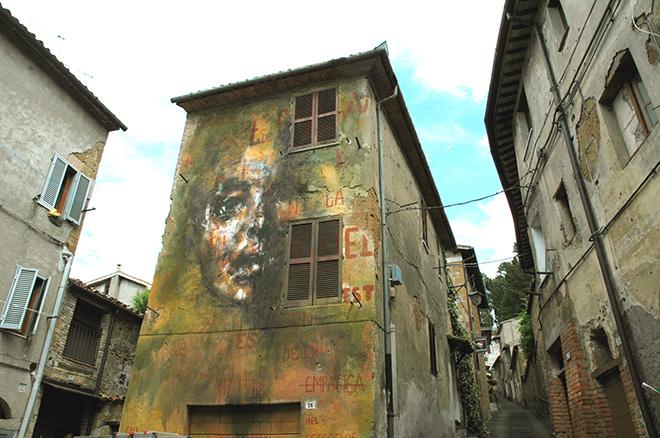La rouille - Mural for Urban Vision Festival, 2016, Acquapendente (VT), Italy