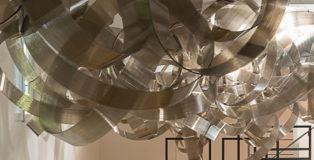 Marco Milia - Molecula, installazione permanente, Coscioni Lab, Roma.
