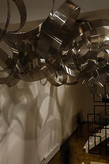 Marco Milia - Molecula, installazione permanente, Coscioni Lab, Roma