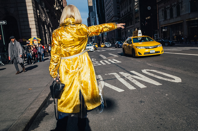 Mathias Wasik (USA) - Yellow Cape,  Honorable Mention Street Photography Category, URBAN 2018 Photo Awards