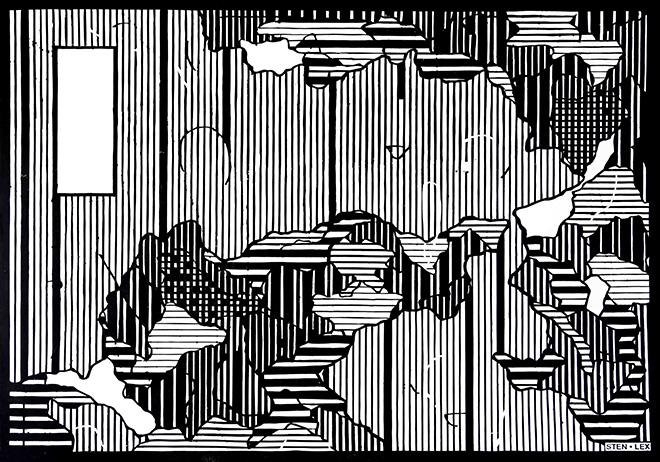 StenLex – Confini. Ritagli su carta