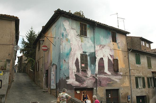 Wasp Elder - Mural for Urban Vision Festival, 2018, Acquapendente (VT), Italy