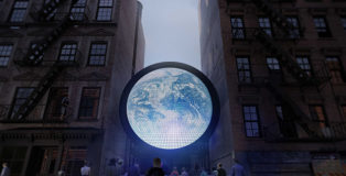 Sebastian Errazuriz - blu Marble, Ludlow Street, New York
