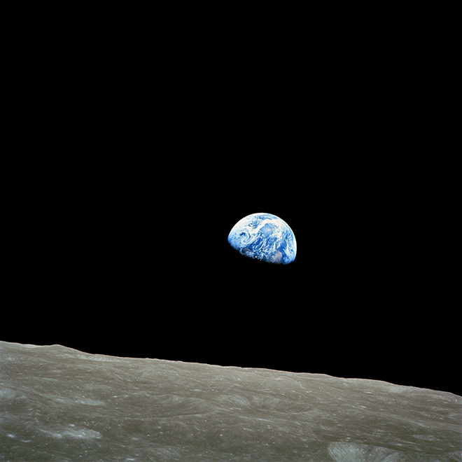 Blue Marble - Apollo 17, first full photo of Earth in 1972