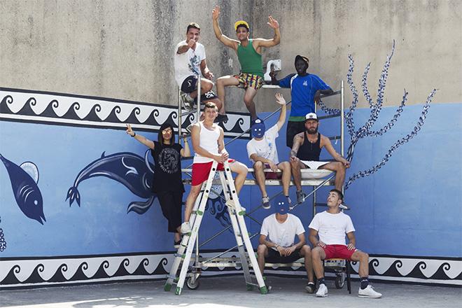 Guerrilla Spam - MANI IN ALTO!, Terzo murales, Progetto di arte urbana Casa Circondariale di Larino (CB), 2018