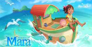 Chibig Studio - Summer in Mara, An adventure set in a tropical ocean