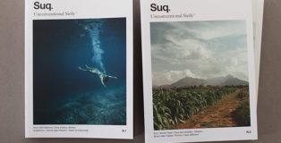 Suq. Unconventional Sicily, rivista transmediale indipendente, progetto vincitore del concorso Sicilia Felicissima - Comunicazione visiva e territorio.