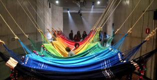 OPAVIVARÁ! Rede Social, installation view (details) at São Paulo (Espaço Cultural Porto Seguro), 2017. Courtesy the artists and A GENTIL CARIOCA