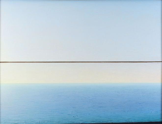 Piero Guccione. La pittura come il mare