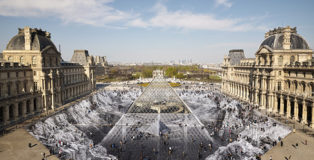 JR - Louvre: Il segreto della grande piramide