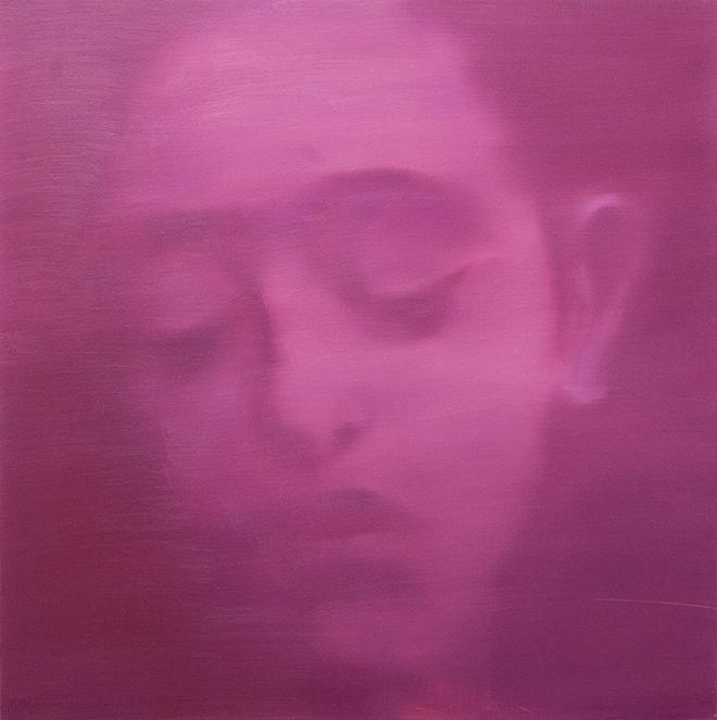 Fang-Xing Chen - Visage Pastel. Olio su tela