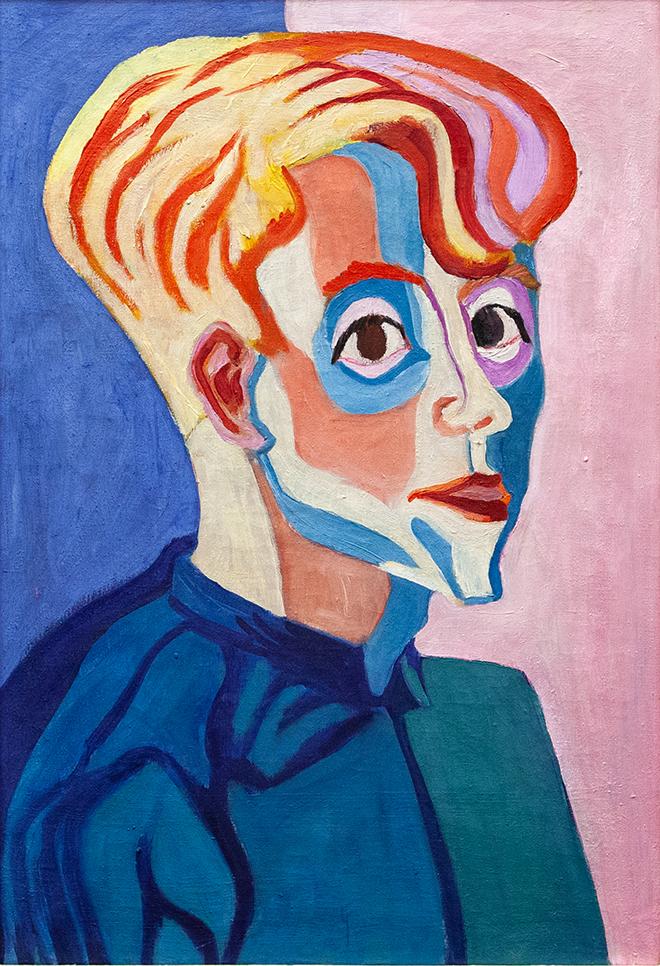 Paul Camenisch - Ritratto di Max Haufler, 1927. Olio su tela