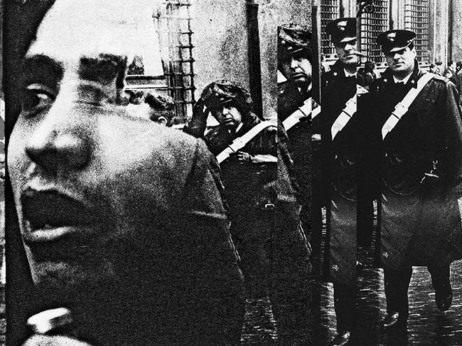©Mario Cresci - Fabula '68- 18, Roma, 1968