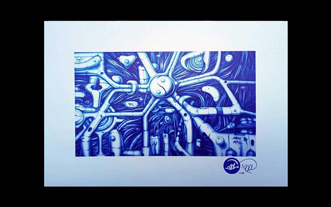 BOL (Pietro Maiozzi) - OPERA n. 231, Stampa su cartoncino 300gr dimensioni 29,7x42cm