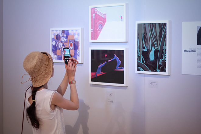 Illustri Festival, exhibition view 2017