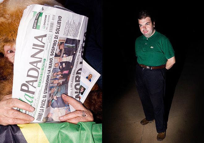 Luca Santese e Marco P. Valli (Cesura) - REALPOLITIK, Lega Nord Party