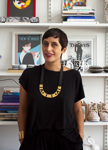 Malika Favre - Portrait