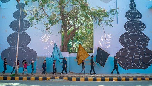 Andreco - Climate 05, Reclaim Air and Water in Delhi (India)