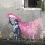 Banksy – Graffiti a Venezia: il bambino naufrago