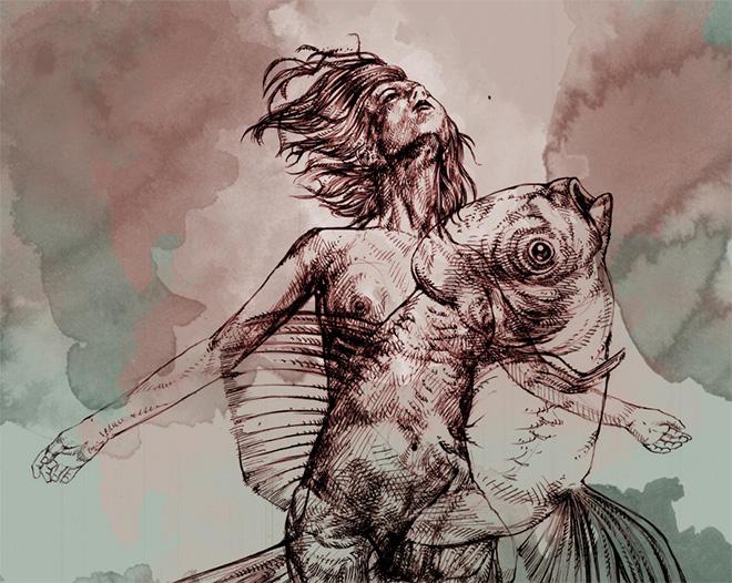 Giovanni Manzoni - Essenza Animale - Mostra personale di Giovanni Manzoni presso Spazio Arte Tolomeo)