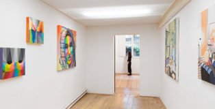 IAM friends - Franco Fasoli | Okuda | Sawe | Spok Brillor, installation view, MAGMA gallery