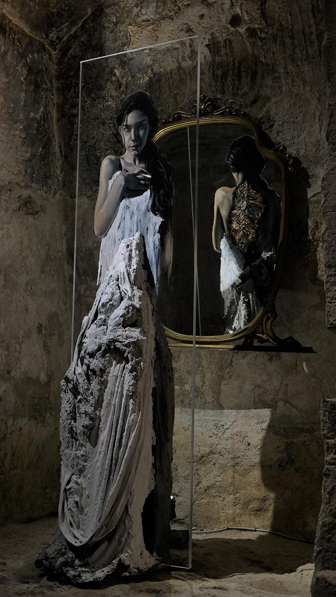 Luis Gomez de Teran - Anche quando l'alba non c'era, MUSMA (Museo della Scultura Contemporanea. Matera). photo credit: Alessandra Costantiello.