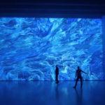 Miguel Chevalier – Pixels Noir Lumière 2019